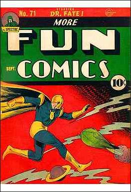 More Fun Comics 71-A by DC
