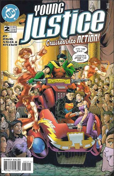 Young Justice (1998) 2-A by DC