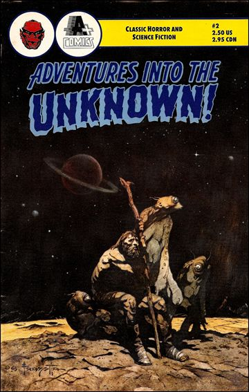 Adventures into the Unknown (1990) 2-A by A+ Comics