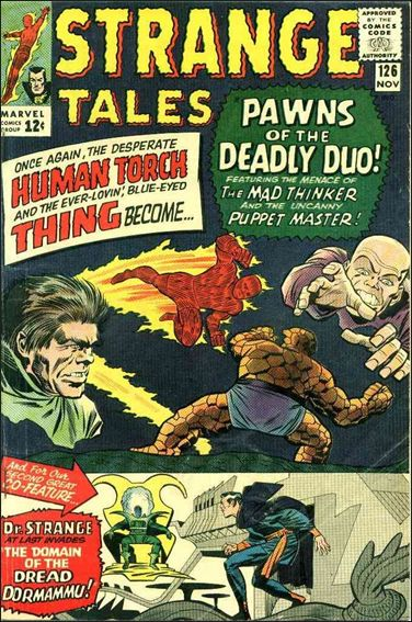 Strange Tales (1951) 126-A by Marvel