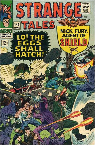 Strange Tales (1951) 145-A by Marvel