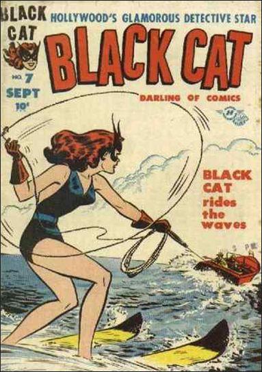 Black Cat Comics 7-A by Harvey
