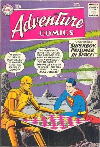 Adventure Comics (1938) 276-A by DC