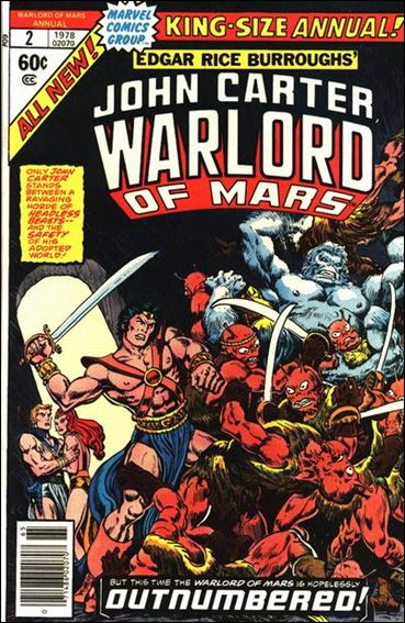 John Carter, Warlord of Mars Annual 2-A by Marvel