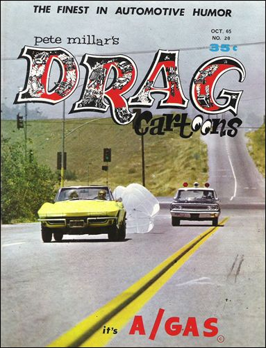 Drag Cartoons (1963) 20-A by Millar