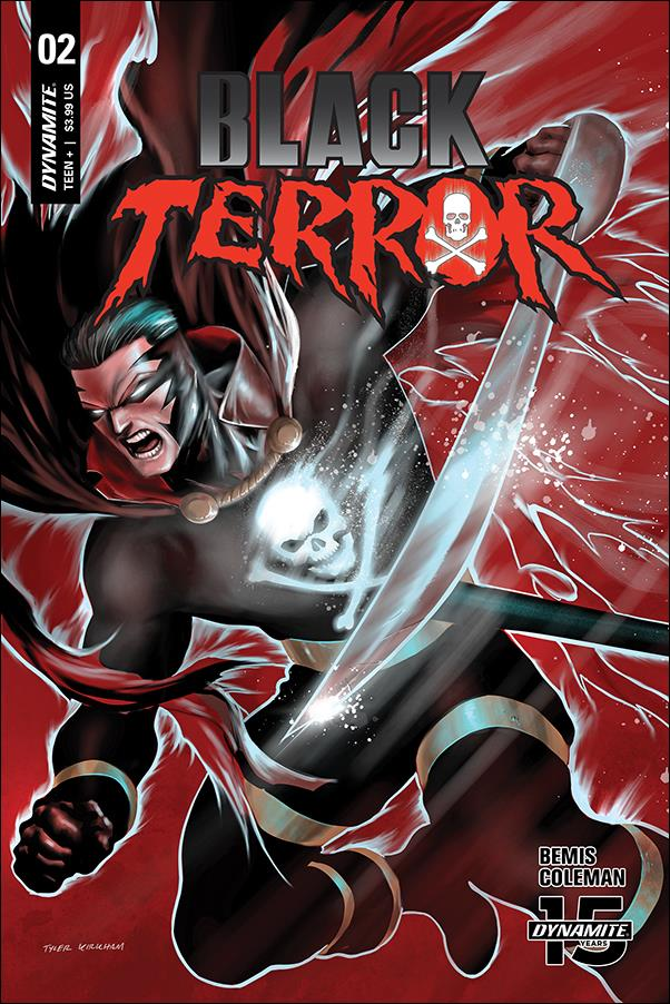 Black Terror (2019) 2-C by Dynamite Entertainment