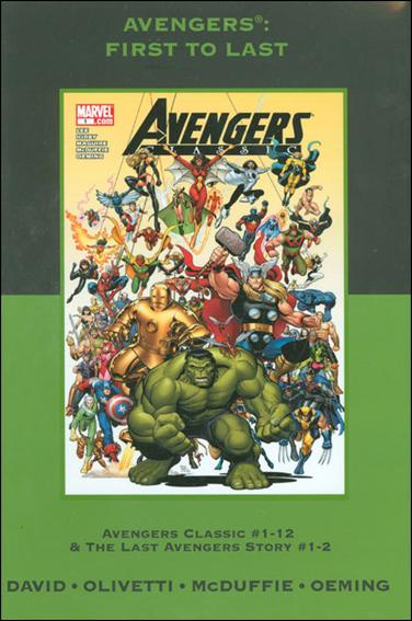 Avengers: First to Last nn-B by Marvel