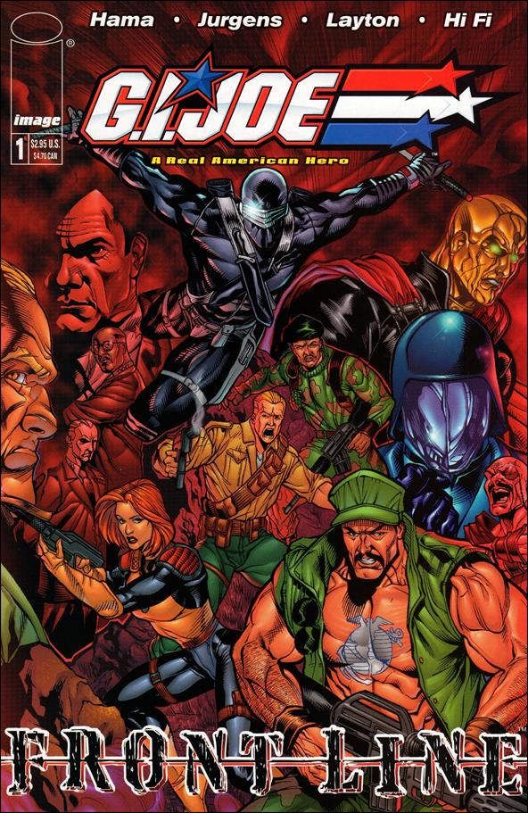G.I. Joe: Frontline 1-B by Image