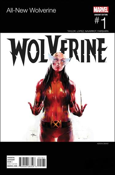 All-New Wolverine  1-G by Marvel