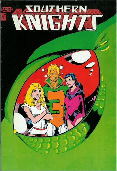 Southern Knights (1985) 31-A by Comics Interview