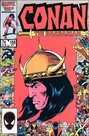 Conan the Barbarian (1970) 188-A by Marvel