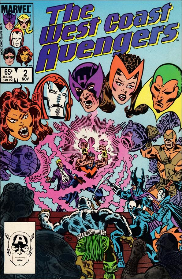 West Coast Avengers (1985) 2-A by Marvel