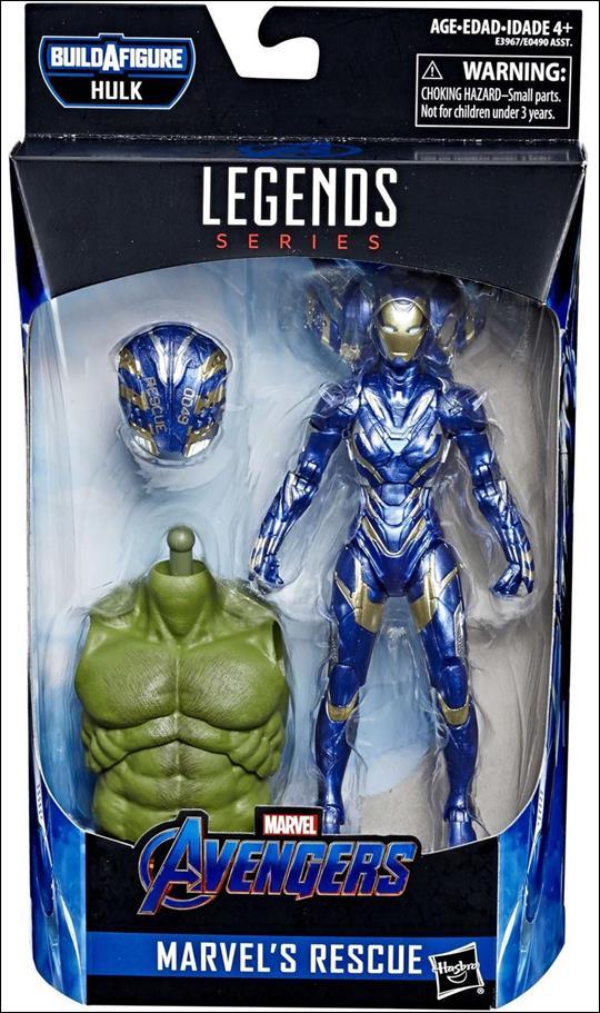 Marvel Legends Series: Avengers (Hulk Series) Rescue by Hasbro