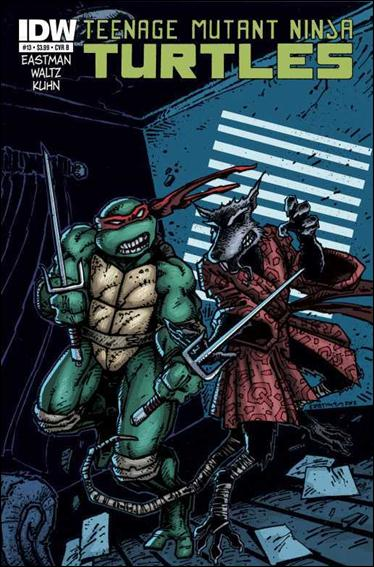 Teenage Mutant Ninja Turtles (2011) 13-B by IDW