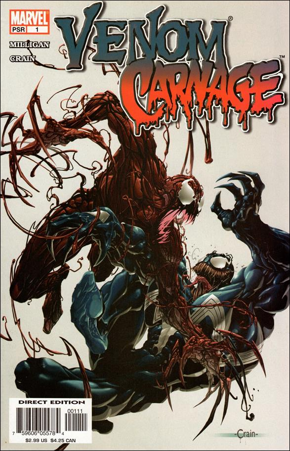 Venom vs Carnage 1 A Sep 2004