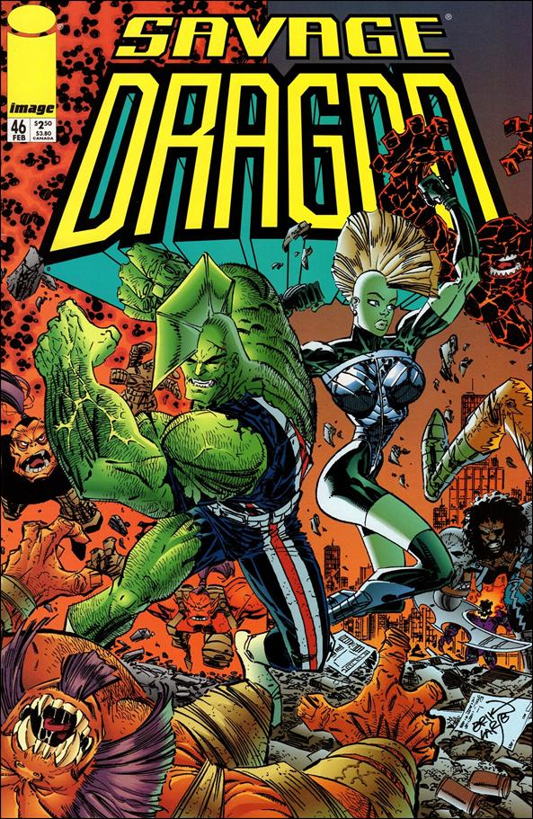 Savage Dragon (1993) 46-A by Image