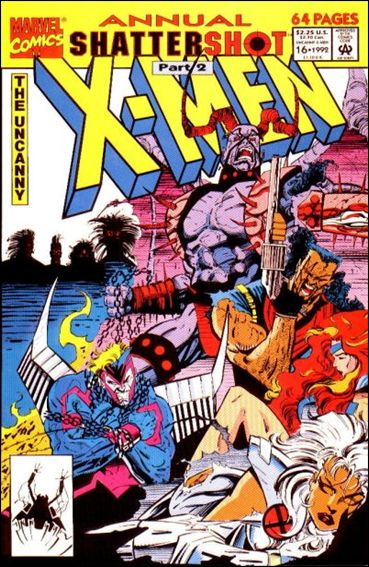 Uncanny X-Men Annual 16-A by Marvel