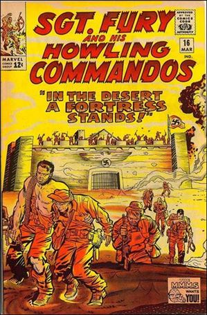 Sgt. Fury and His Howling Commandos 16-A