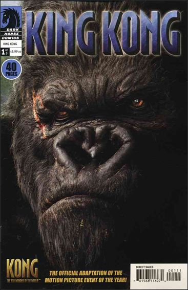 King Kong: The 8th Wonder of the World Movie Adaptation 1-A by Dark Horse