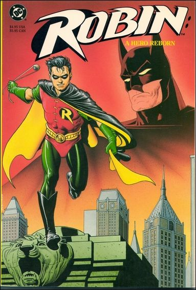 Robin: A Hero Reborn 1-A by DC