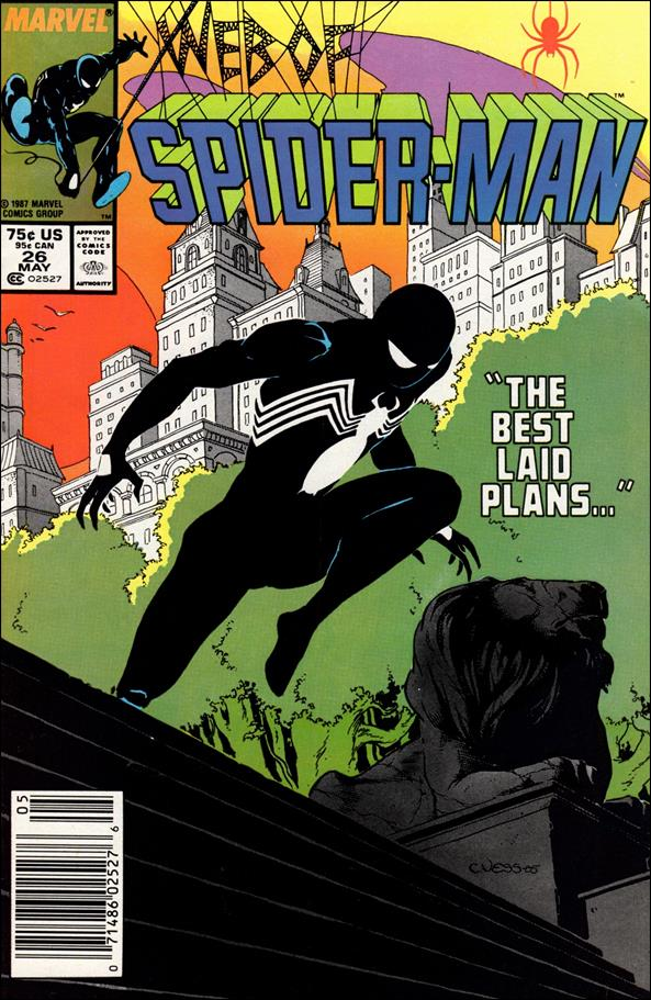 Web of Spider-Man (1985) 26-A by Marvel