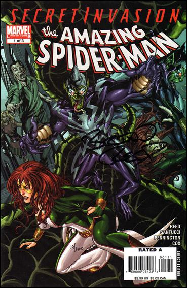Secret Invasion: The Amazing Spider-Man 1-B by Marvel