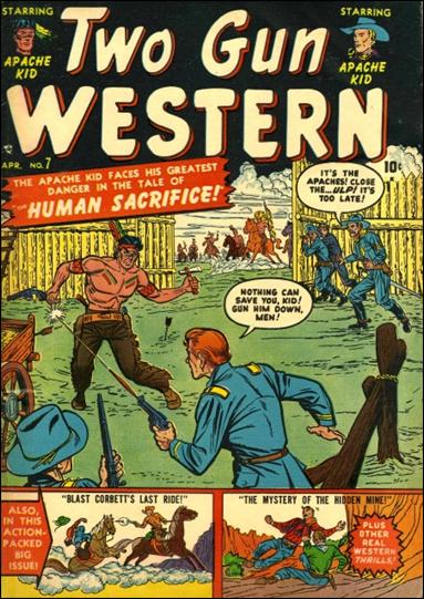 Two Gun Western 7-A by Marvel