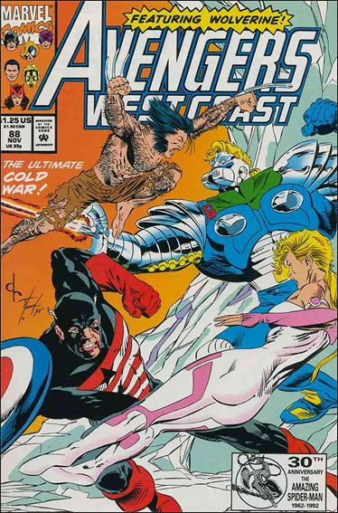 Avengers West Coast 88-A by Marvel