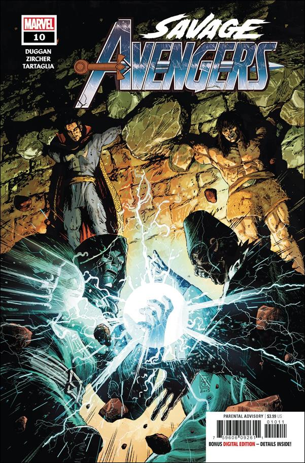 Savage Avengers 10-A by Marvel