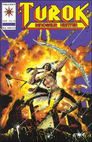 Turok: Dinosaur Hunter 10-A by Valiant