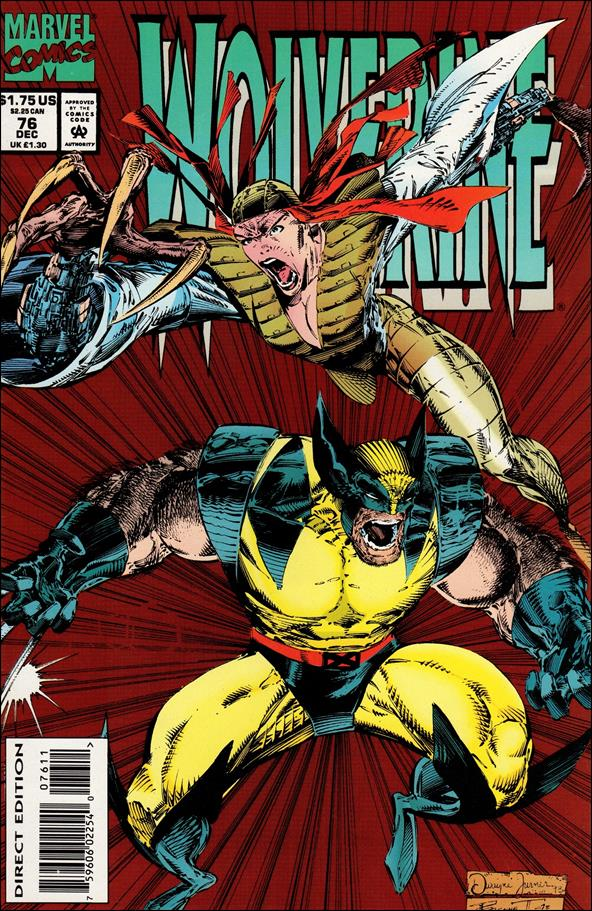 Wolverine (1988)  76-A by Marvel
