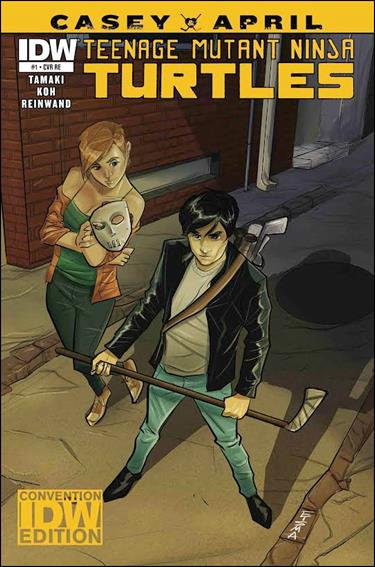 Teenage Mutant Ninja Turtles: Casey and April 1-D by IDW