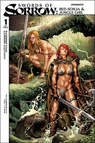Swords of Sorrow: Red Sonja & Jungle Girl 1-A
