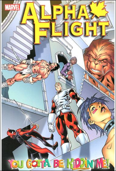 Alpha Flight 1-A by Marvel