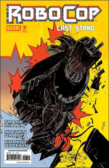 Robocop: Last Stand 7-A by Boom! Studios