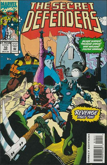 Secret Defenders 10-A by Marvel