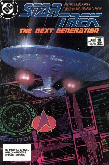 Star Trek: The Next Generation (1988) 1-A by DC
