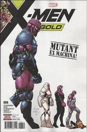 X-Men: Gold (2017) 6-A
