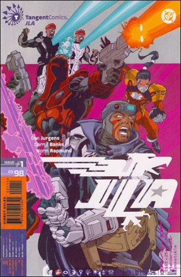 Tangent Comics/JLA 1-A by Tangent Comics