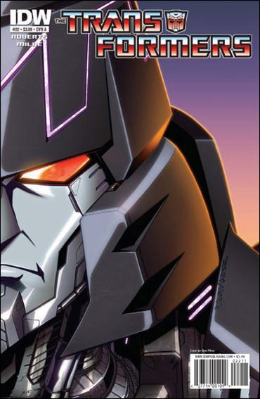 Transformers (2009) 22-A by IDW