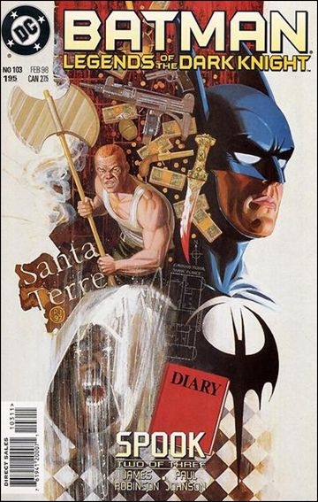 Batman: Legends of the Dark Knight 103-A by DC