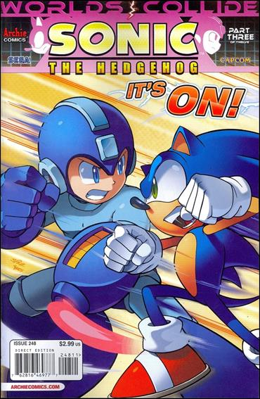 Sonic the Hedgehog (1993) 248-A by Archie