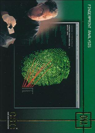 CSI: Crime Scene Investigation - Series One (Gold Foil Set B) DNA1-A