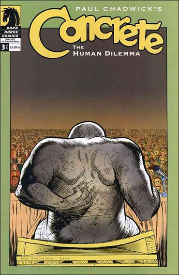 Concrete: The Human Dilemma 3-A by Dark Horse
