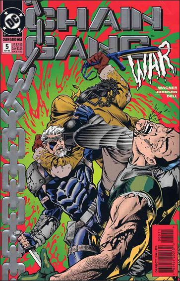 Chain Gang War 5-A by DC