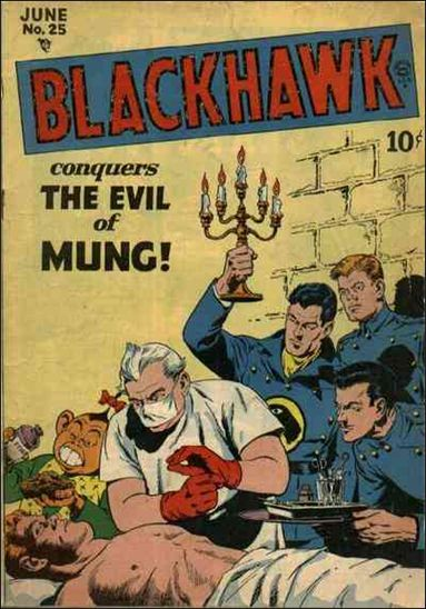 Blackhawk (1944) 25-A by DC
