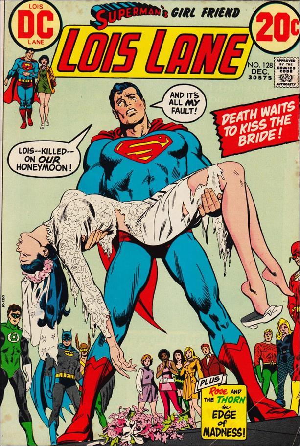 Superman's Girl Friend Lois Lane 128-A by DC