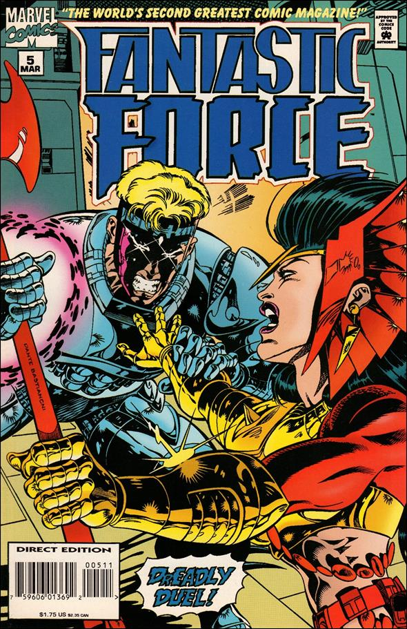 Fantastic Force (1994) 5-A by Marvel