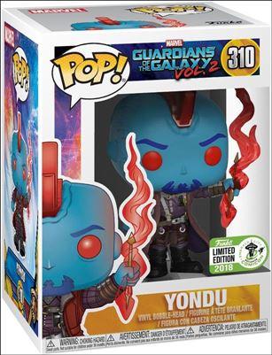 POP! Marvel Yondu Emerald City Comicon 2018