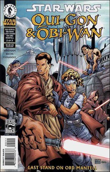 Star Wars: Qui-Gon & Obi-Wan - Last Stand on Ord Mantell 2-A by Dark Horse